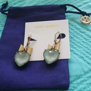 Tory Burch Heart Dangle Earring